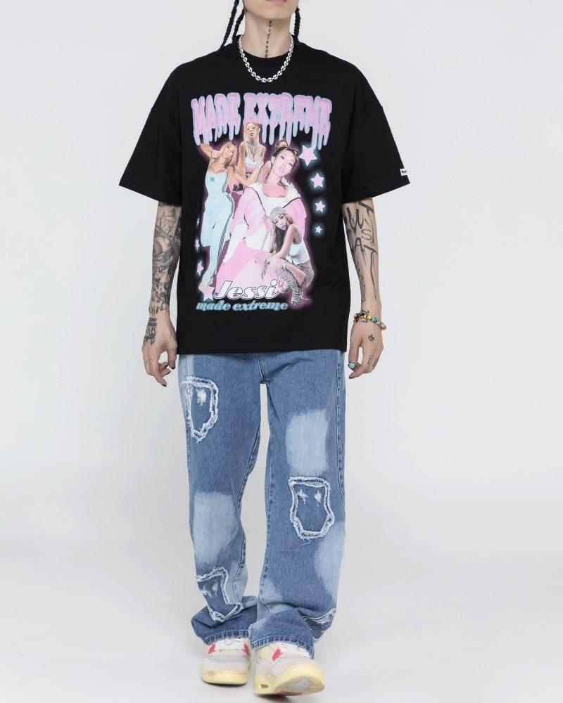 ホットラッパーガールズTシャツの画像3