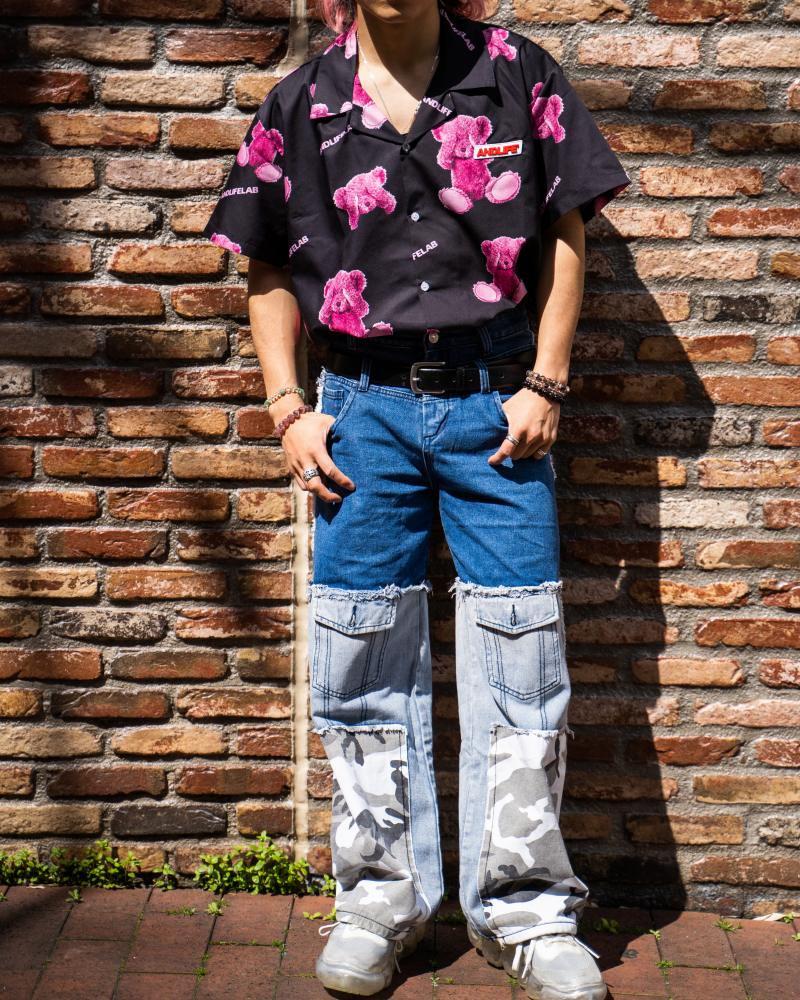 ブラインドクマ半袖シャツの画像5