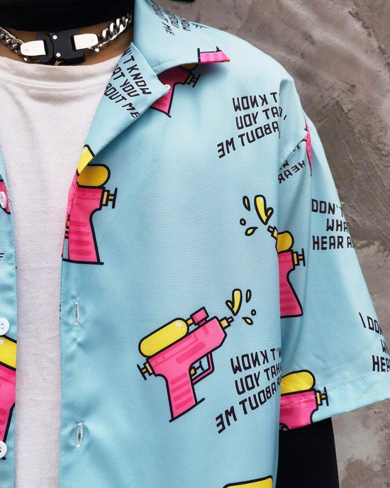 ウォーターガン半袖シャツの画像4