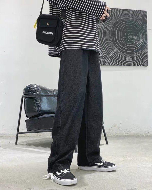 《2色》2WAYベーシックデニムジョガーパンツの画像2