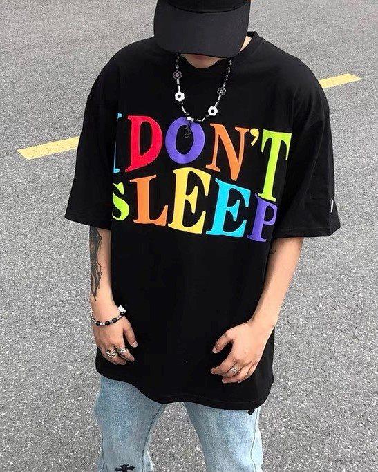 《2色》I DON'T SLEEP Tシャツの画像1