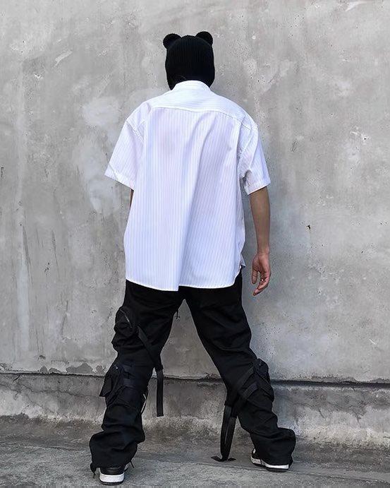 ビッグハートストライプ半袖シャツの画像6