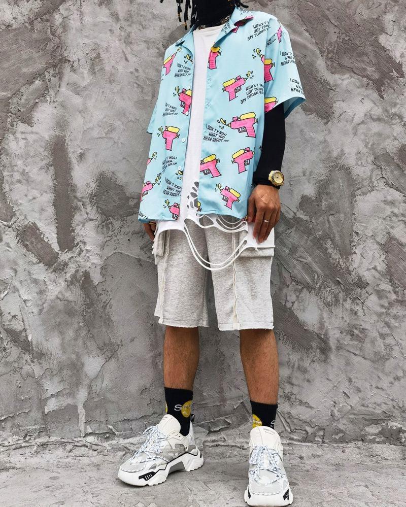 ウォーターガン半袖シャツの画像2