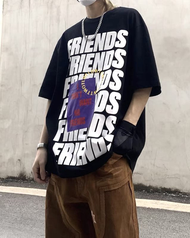 《3色》FRIENDS ロゴTシャツの画像1
