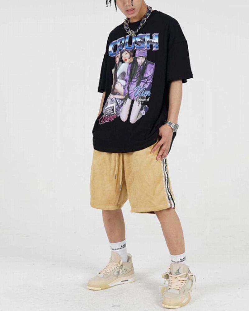 CRUSHガールTシャツの画像5