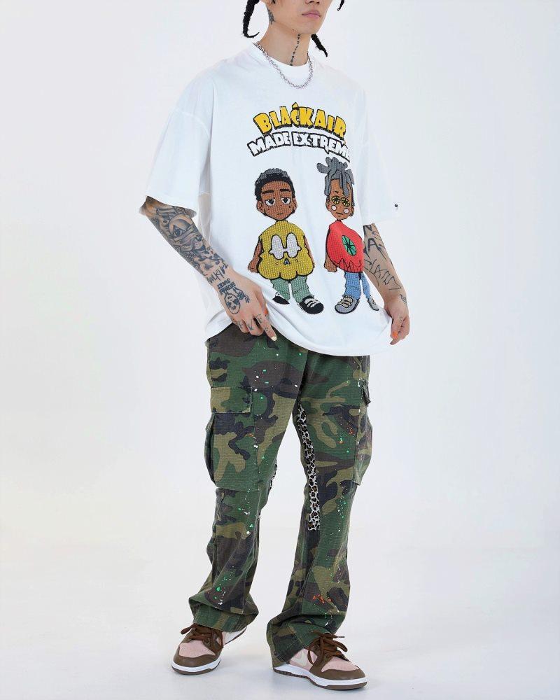 《2色》2manYahman Tシャツの画像6