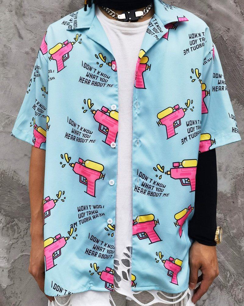 ウォーターガン半袖シャツの画像1