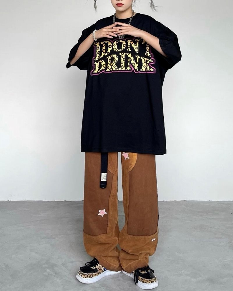I DON'T DRINK Tシャツの画像3