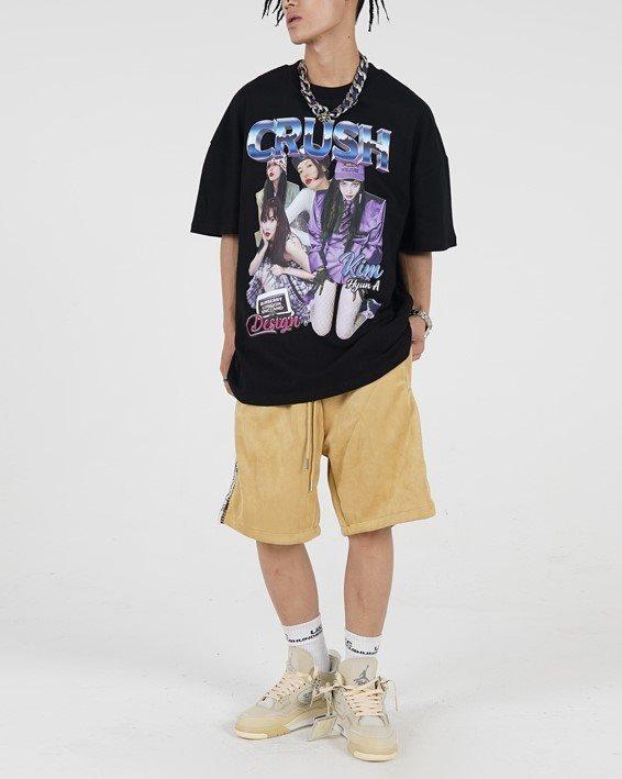 CRUSHガールTシャツの画像2