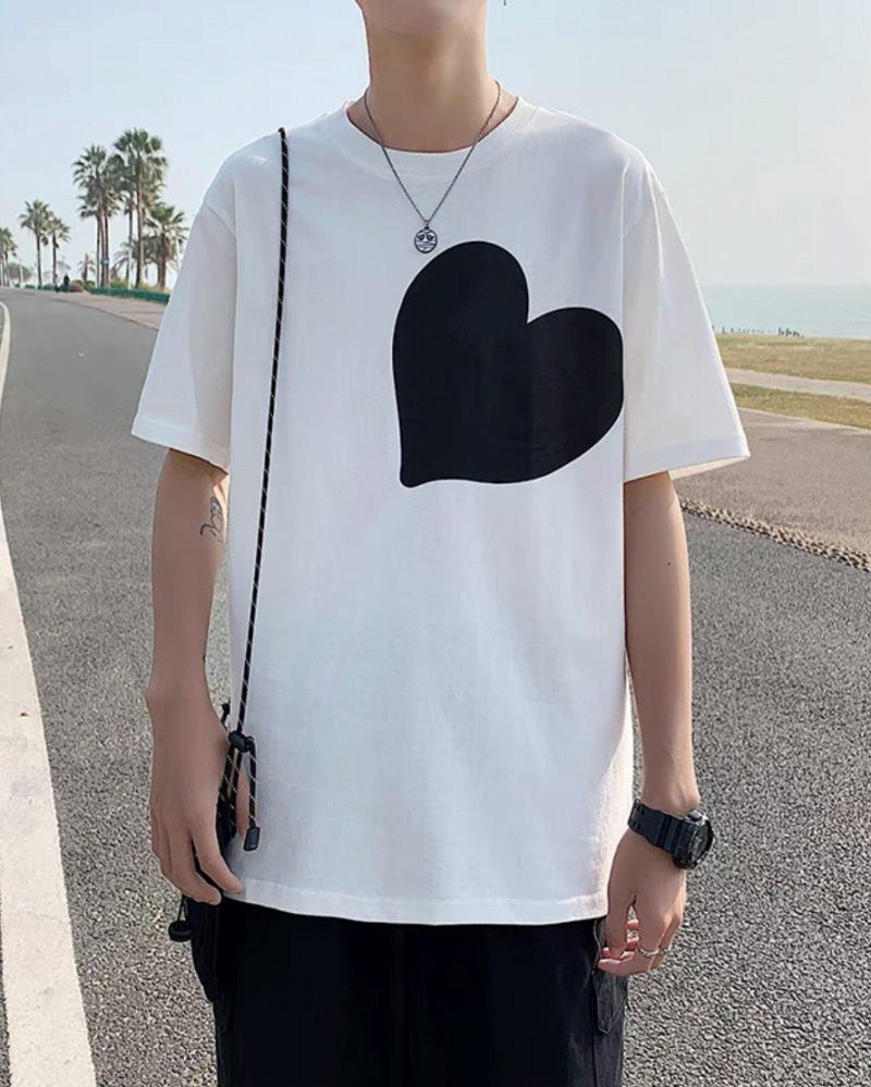 《2色》ビッグハートTシャツの画像2