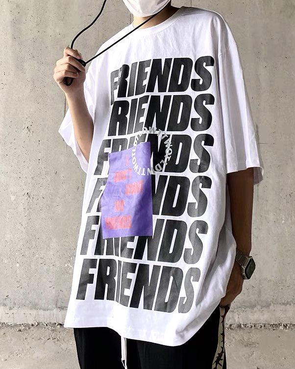 《3色》FRIENDS ロゴTシャツの画像2
