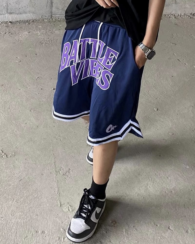 《2色》BATTLE VIBES バスケットショートパンツの画像1