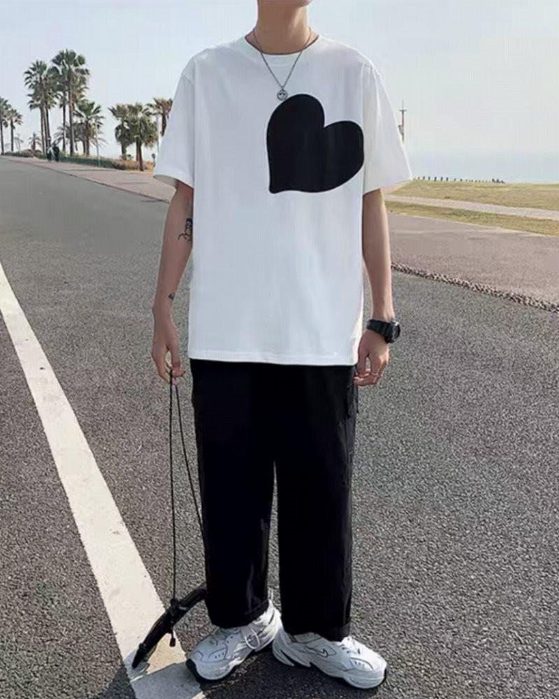 《2色》ビッグハートTシャツの画像4