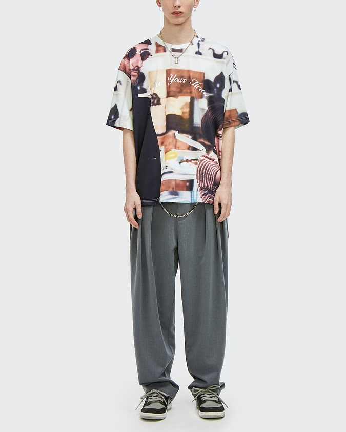 オーバーサイズグラフィックTシャツの画像4