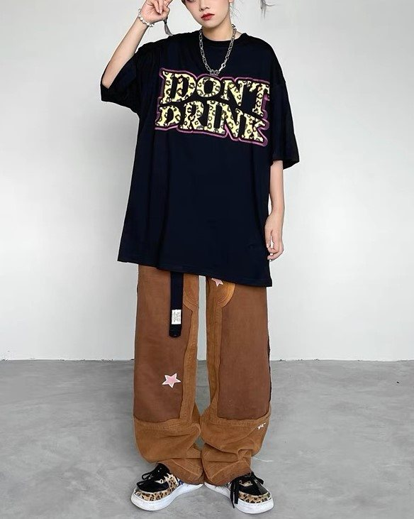I DON'T DRINK Tシャツの画像1