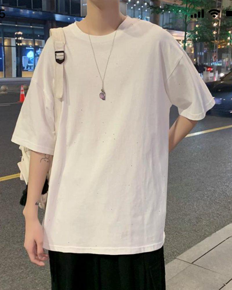 《2色》スプラッシュグリッターTシャツの画像2