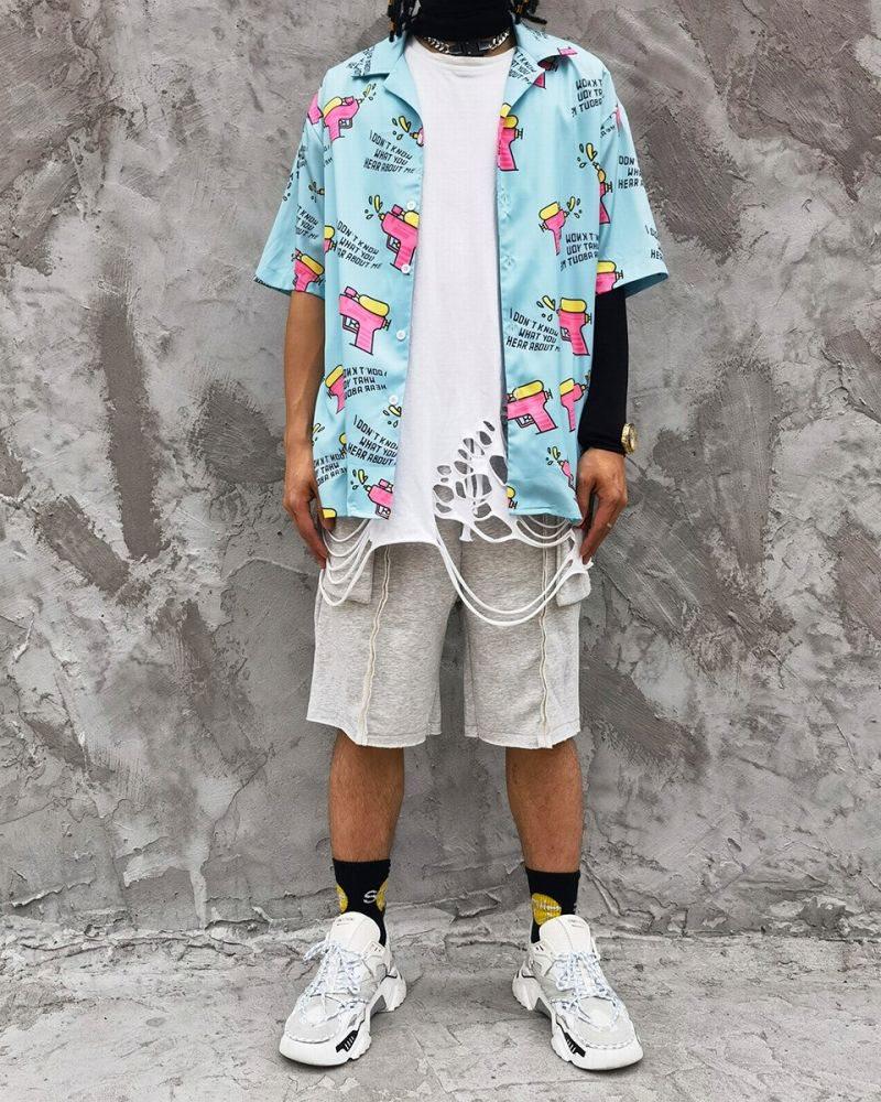 ウォーターガン半袖シャツの画像6
