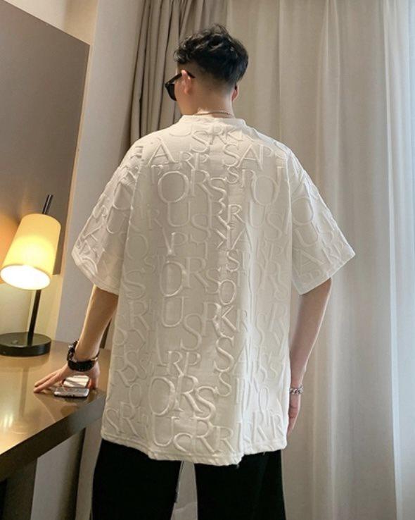 キルティングクマTシャツの画像2