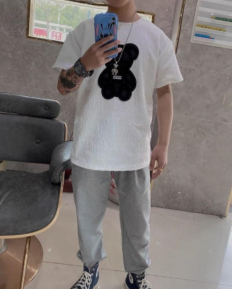 キルティングクマTシャツの画像4