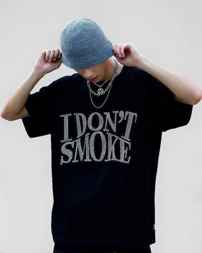 I DON'T SMOKE Tシャツの画像1