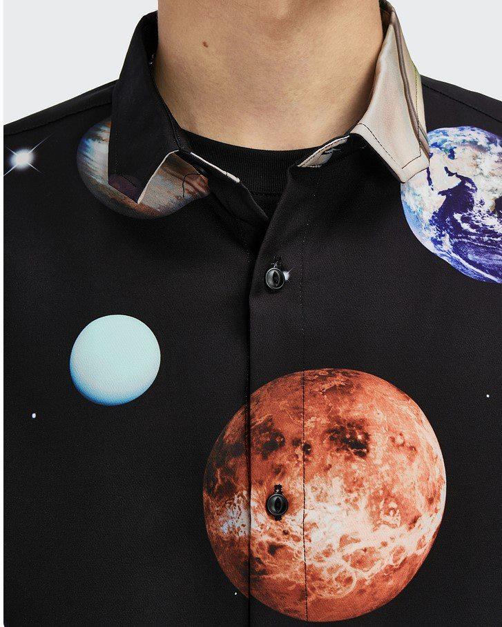 プラネット柄半袖シャツの画像4