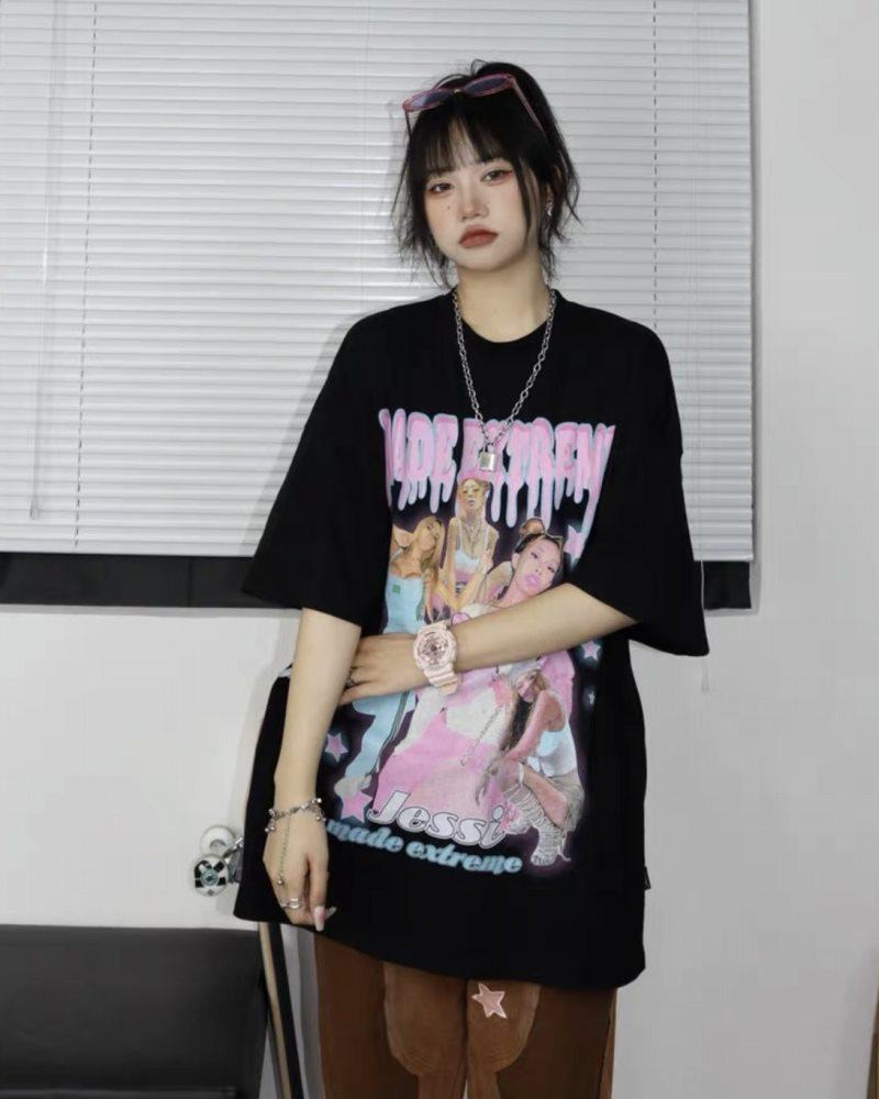 ホットラッパーガールズTシャツの画像2