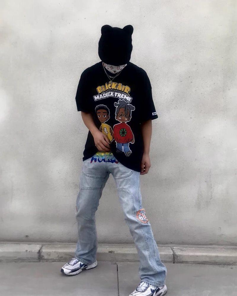《2色》2manYahman Tシャツの画像8