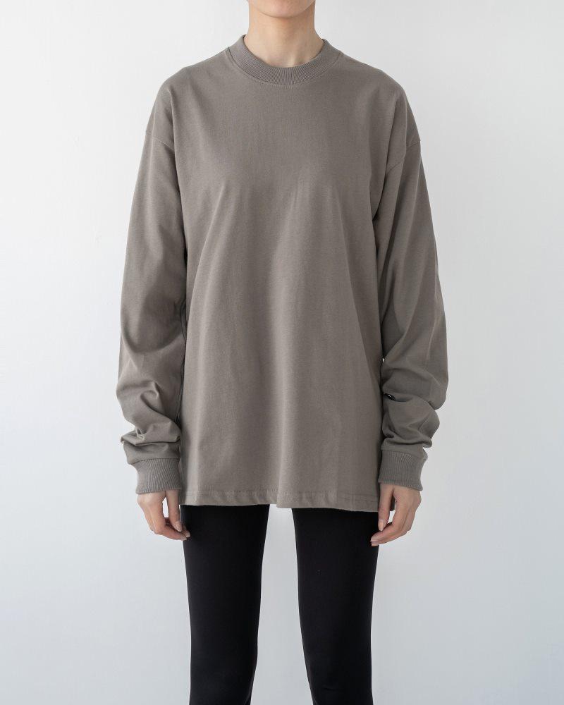 《3色》ベーシックロングTシャツの画像3