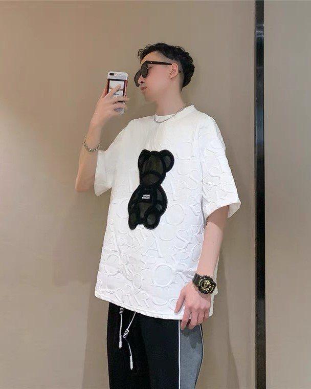 キルティングクマTシャツの画像1