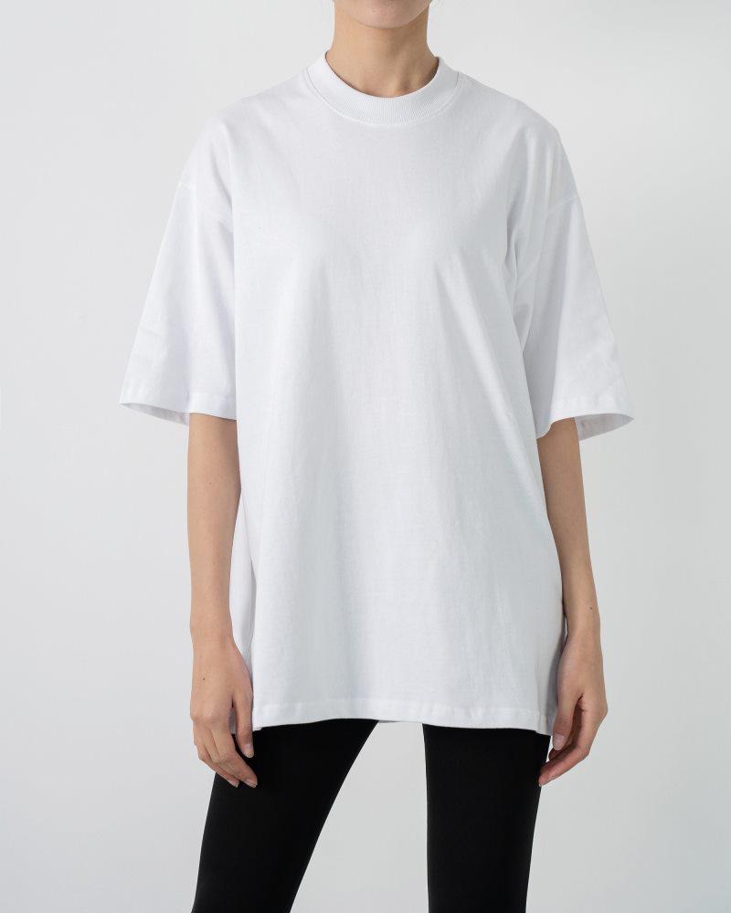 《3色》ベーシックオーバーサイズTシャツの画像3
