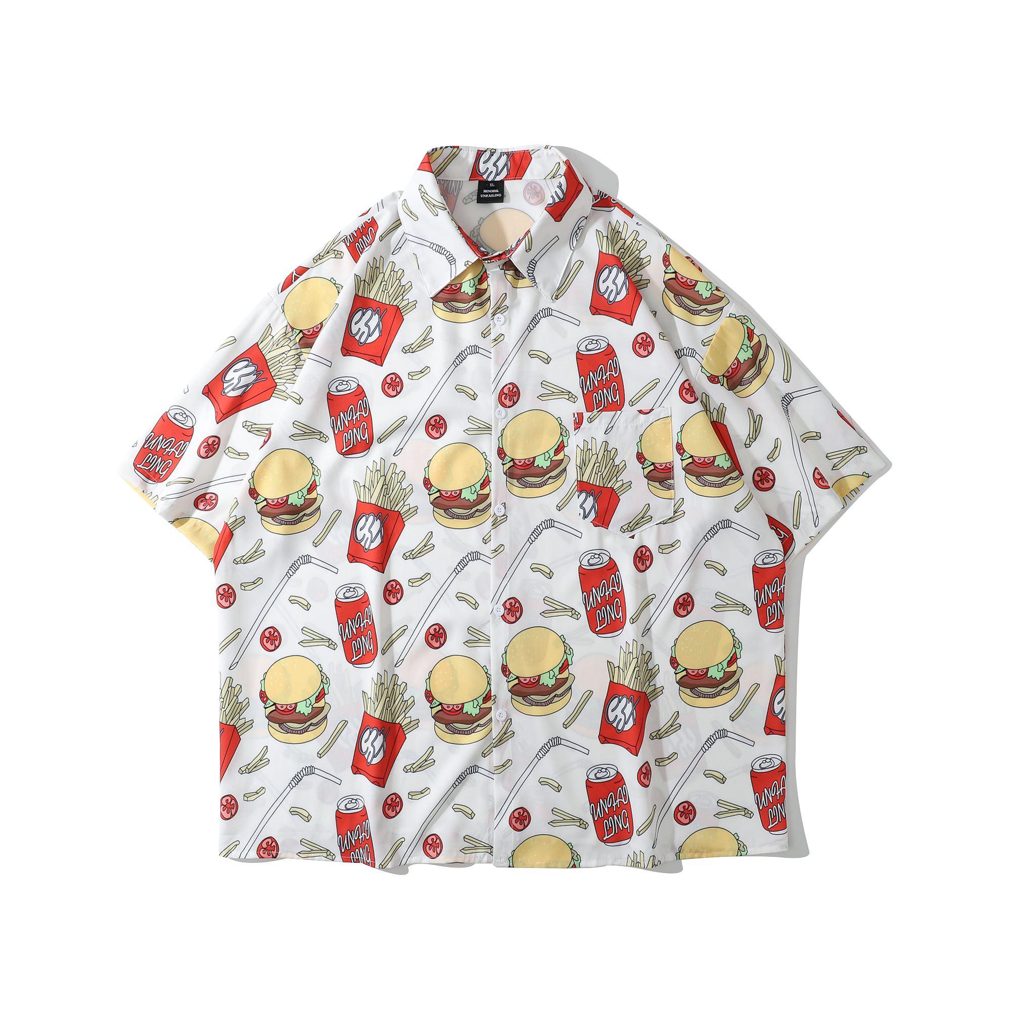 BURGER BURGER 半袖シャツの画像1