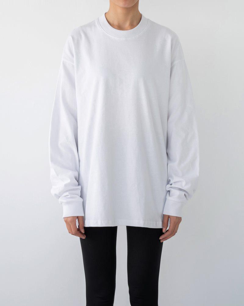 《3色》ベーシックロングTシャツの画像1