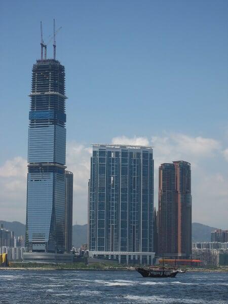 Kowloon side et l'ICC