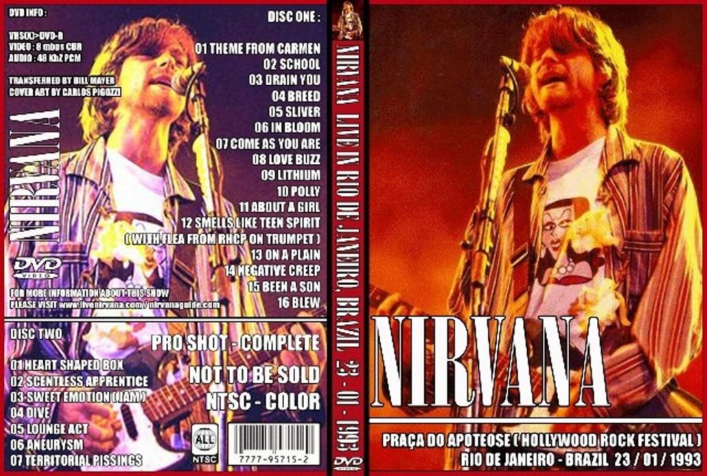 caratulas de DVD's de los mejores grupos.!!