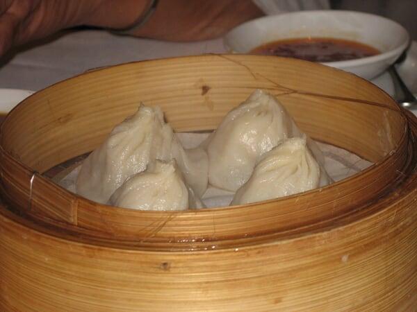 Shanghai style pork dumpling