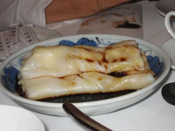 Chinese pasta aux crevettes
