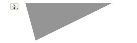 三角形を描きます