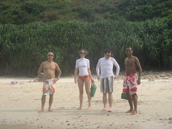 Un petit beach volley