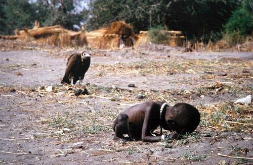 凯文·卡特的作品《饥饿的女孩》